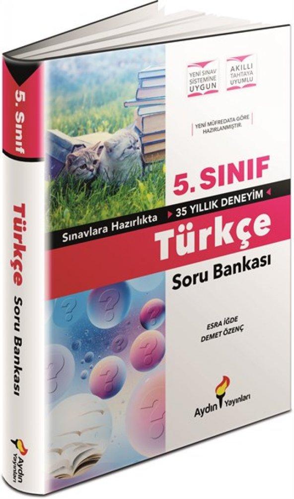 Aydın yayınları 5. Sınıf Türkçe Soru Bankası
