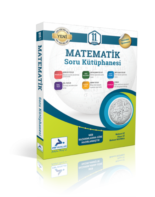 Paraf Yayınları 11. Sınıf Matematik Soru Kütüphanesi