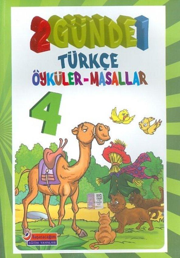 Başaracağım Yayınları 4. Sınıf 2 Günde 1 Türkçe Öyküler Masallar