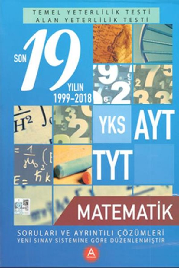 A Yayınları YKS AYT TYT Matematik Son 19 Yılın Çıkmış Sorular