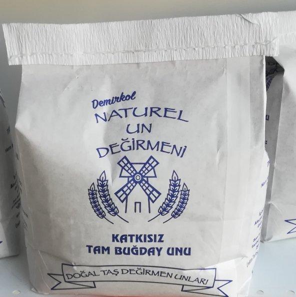 Naturel un değirmeni Tam buğday unu 2kg