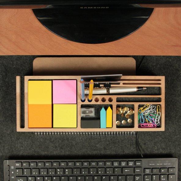 Mini Sharpy Masa Düzenleyici (Füme)