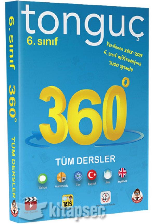 6. Sınıf 360 Tüm Dersler Soru Bankası Mini Kitap Tonguç Akadem