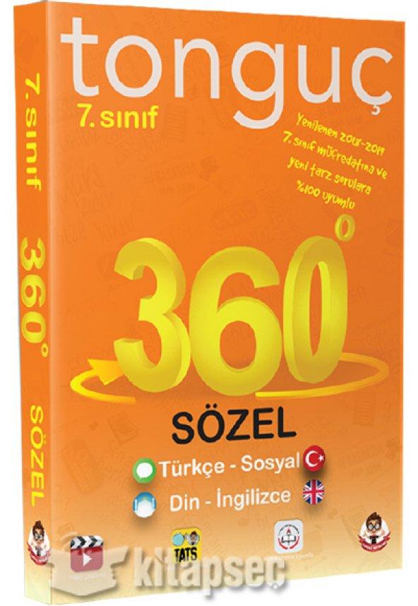 7. Sınıf 360 Soru Bankası Sözel Tonguç Akademi