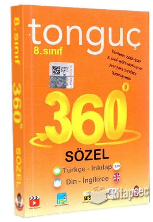 8. Sınıf 360 Serisi Sözel Soru Bankası Tonguç Akademi