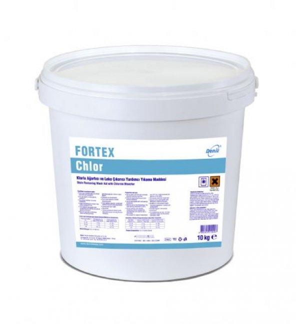 Klorlu Ağartıcı, Leke Çıkarıcı Yardımcı Yıkama Mad. FORTEX CHLOR