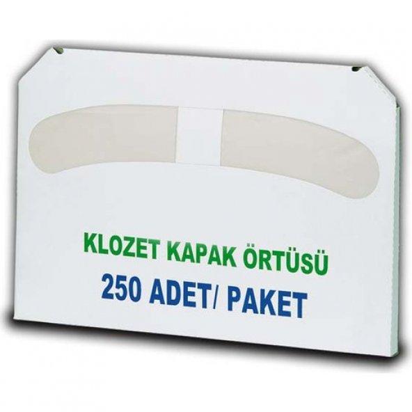 Klozet Kapak Örtüsü 250 Adet (5 Paket)