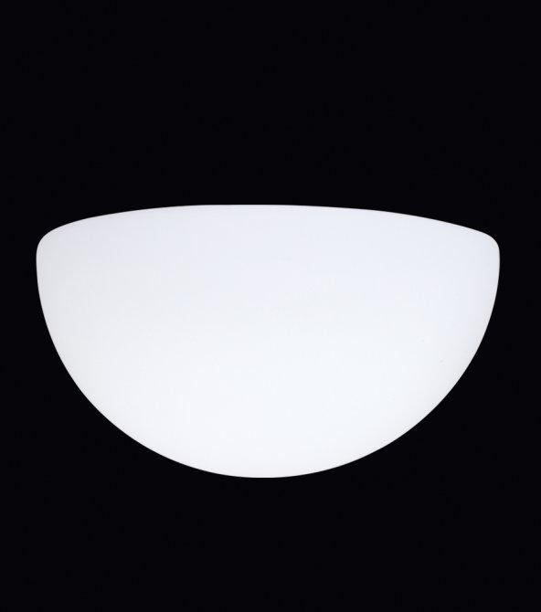 Oktay Aydınlatma Efes 5851  1xE27 duylu Beyaz Duvar Apliği