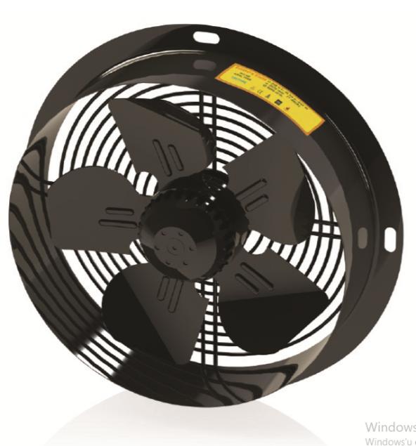 FanexFan PDRAF Dıştan Rotorlu Yuvarlak Kasalı Aksiyal Aspiratörle