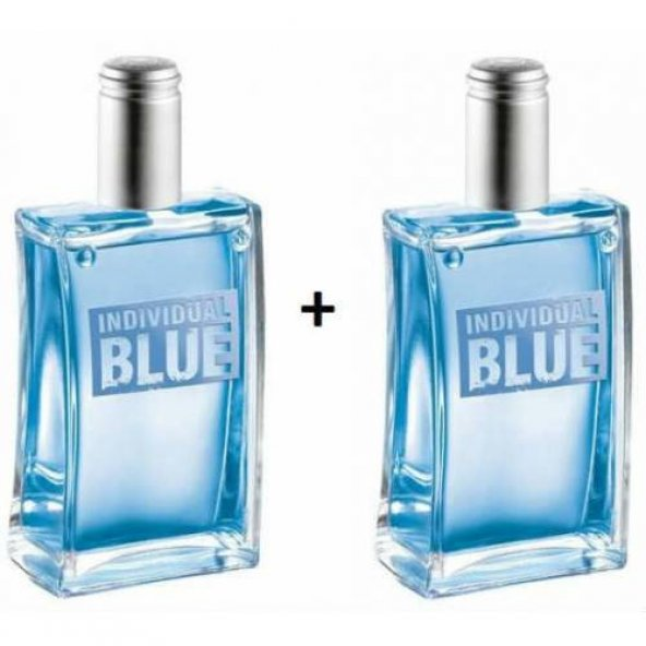 Avon Individual Blue 100 Ml Edt 2 Lİ Eknomik Set