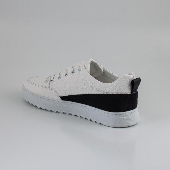 Beyaz Erkek Günlük Ayakkabı - CC150