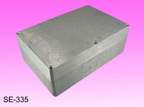 AK-SE-335  222X146X82  Contalı  Alüminyum Kutu  ( IP-65 )