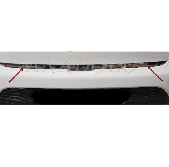 Ford Focus HB Formlu Krom Bagaj Alt Çıtası Paslanmaz Çelik 2015 Ü