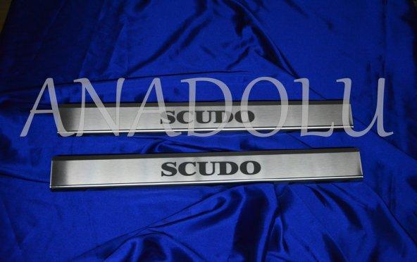 Fiat Scudo Krom Kapı Eşiği 2 Parça