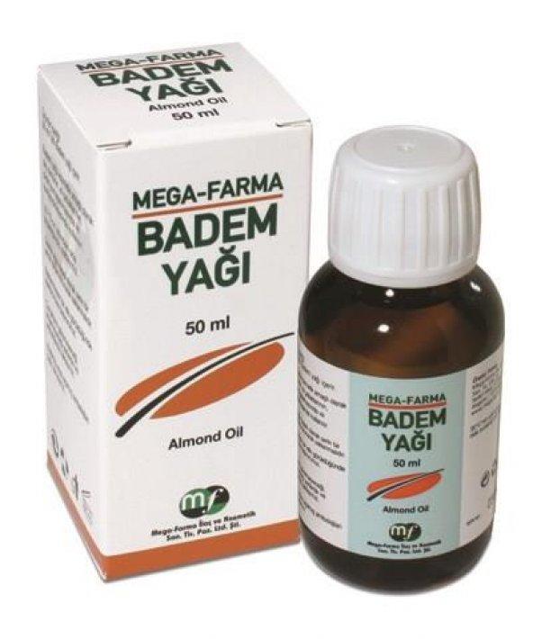 MEGA FARMA Badem Yağ 50ml