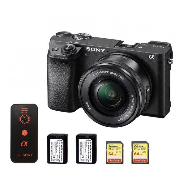 Sony A6300 16-50mm Kit + Aksesuar Seti