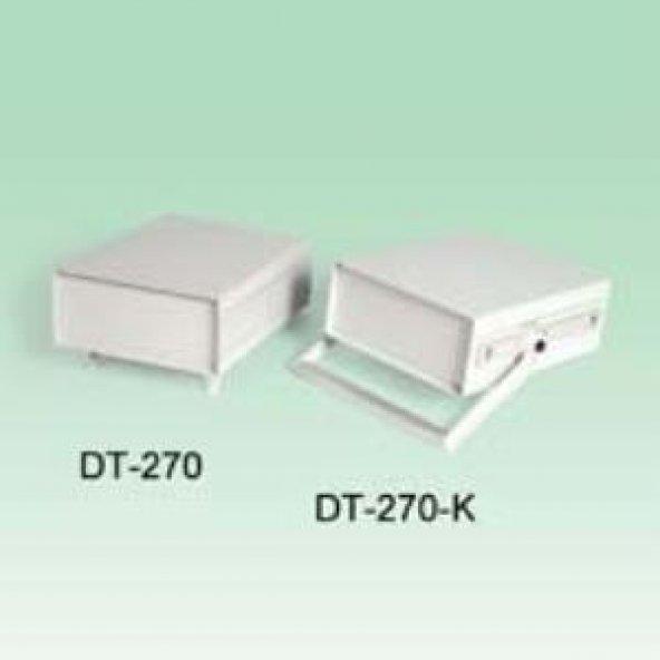 AK-DT-270-K 228x285x100 Kulplu Plastik Laboratuvar Kutusu