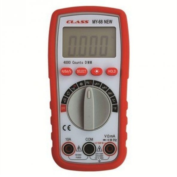 Class MY-68 Mini Dijital Multimetre