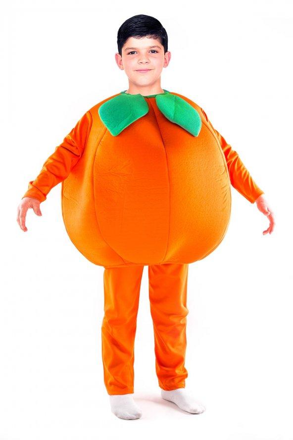 Portakal Kostümü Çocuk Kıyafeti