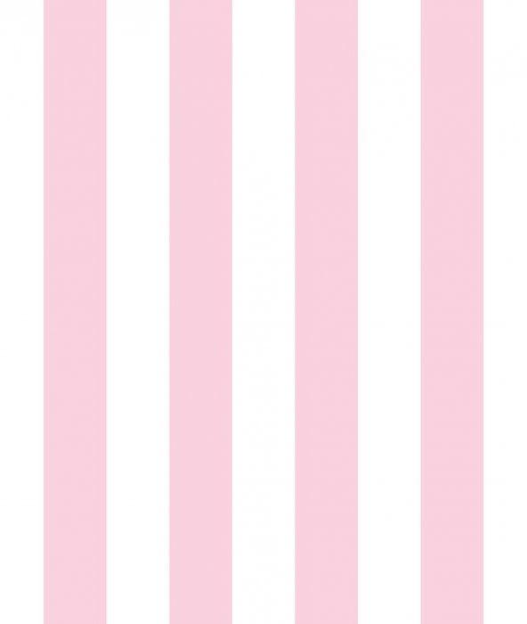 Milky Baby 430-3 Pembe Çizgili Çocuk Odası Duvar Kağıdı