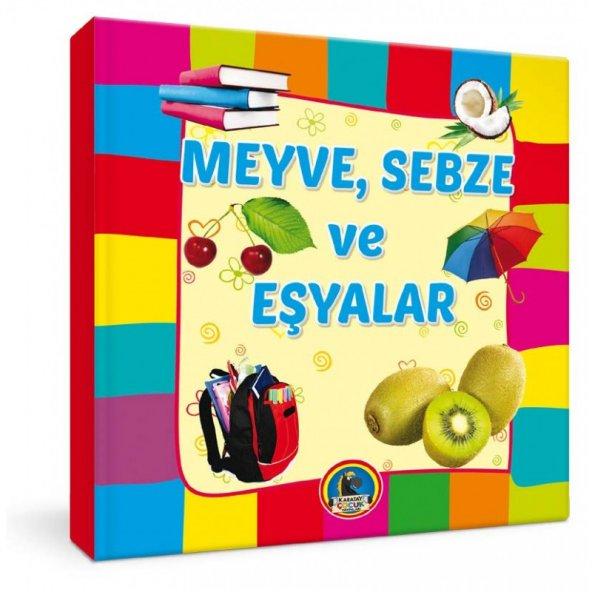 Karatay Meyveler Sebzeler ve Eşyalar Büyük Karton Yp