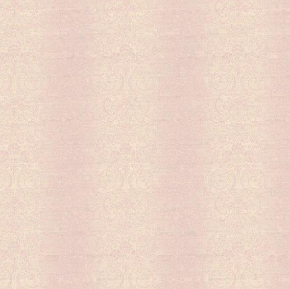 Truva 8604-4 Kendinden Damask Desenli Duvar Kağıdı