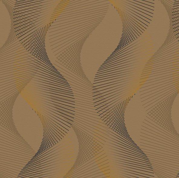 Truva 8605-1 Geometrik Desenli Duvar Kağıdı