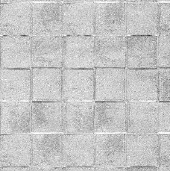 Truva 8608-2 Kare Desenli Duvar Kağıdı