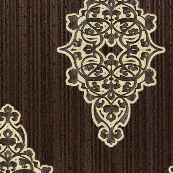 Nadia 9730-4 Vinil Damask Desenli Duvar Kağıdı