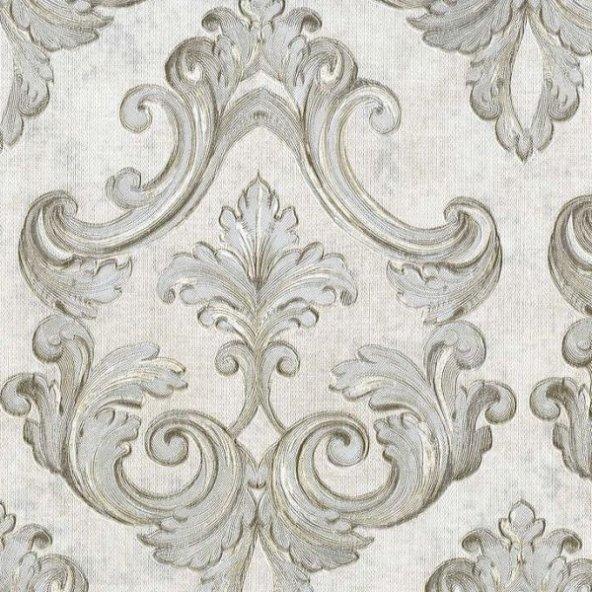 Nadia 9734-1 Barok Damask Desenli Duvar Kağıdı