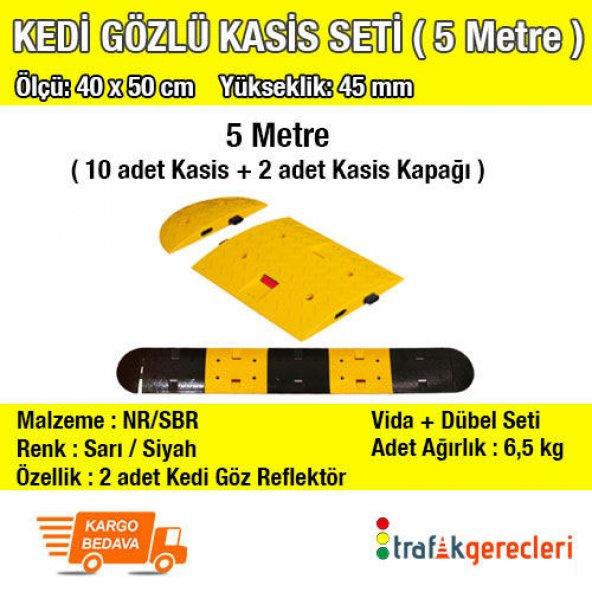 KEDİ GÖZLÜ KASİS SETİ (5 METRE) 40x50 CM