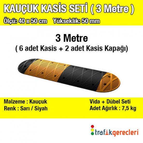 KAUÇUK KASİS SETİ (3 METRE)