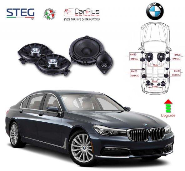 BMW 7 Serisi STEG İtaly Hoparlör Kiti