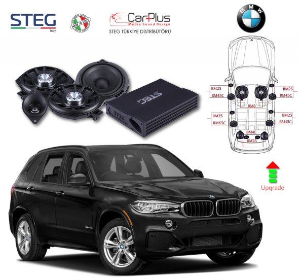 BMW X5 Serisi STEG Italy Sound System FULL PAKET