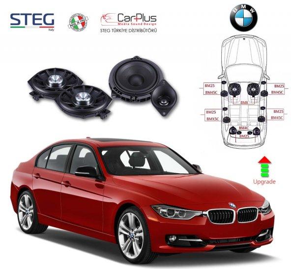 BMW 3 Serisi STEG İtaly Hoparlör Kiti