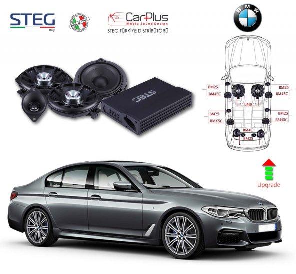BMW 5 Serisi STEG Italy Sound System FULL PAKET
