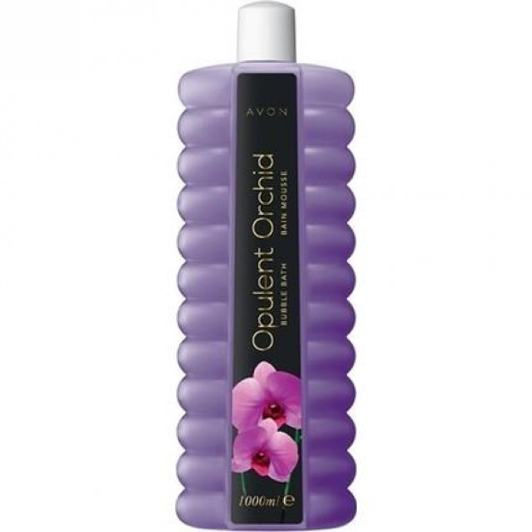 Avon Duş Jeli 1000 Ml Opulent Orchid Banyo Köpüğü
