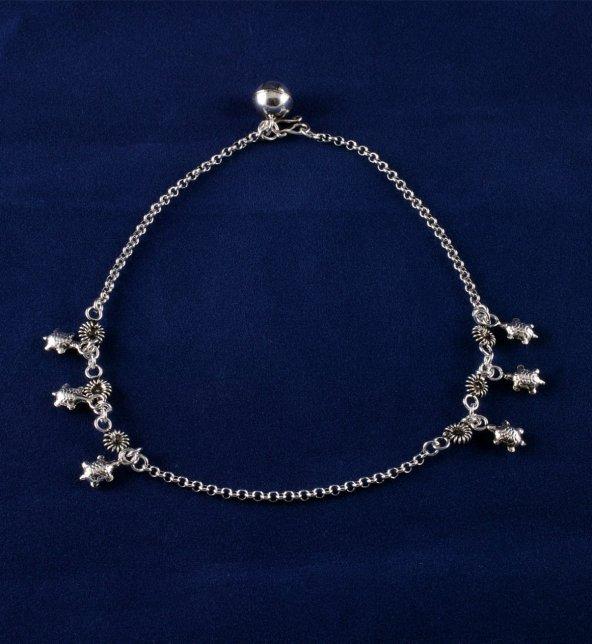 Oksitli Gümüş Halhal