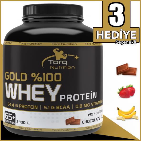Torq Nutrition Gold %100 Whey Protein Tozu 2300 Gr - 3 Aroma Seçeneği