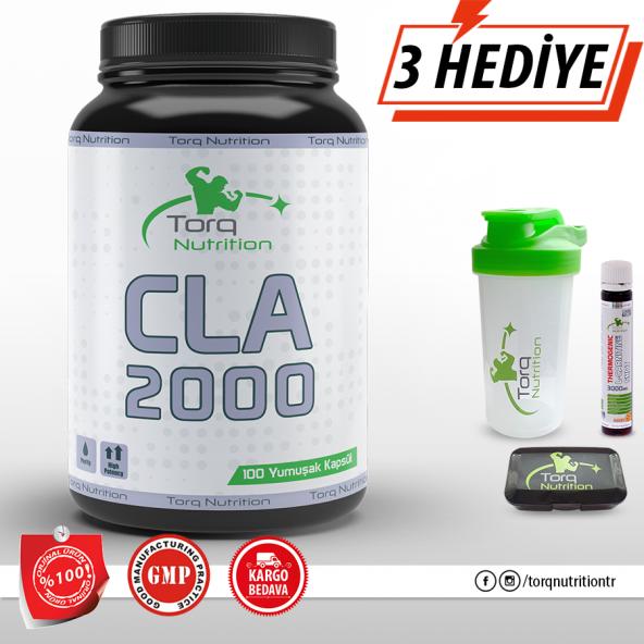 Torq Nutrition - CLA 2000   100 Jel Kapsül