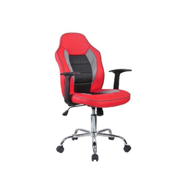 Adore Max Office Easy Racing Çalışma Koltuğu - Kırmızı - Siyah - Gri MXY100KC