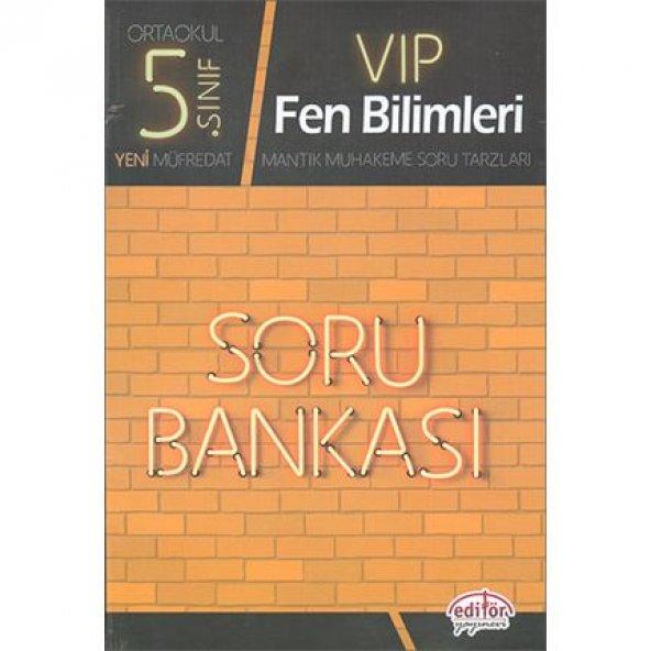 Editör 5.Sınıf VIP Fen Bilimleri Soru Bankası