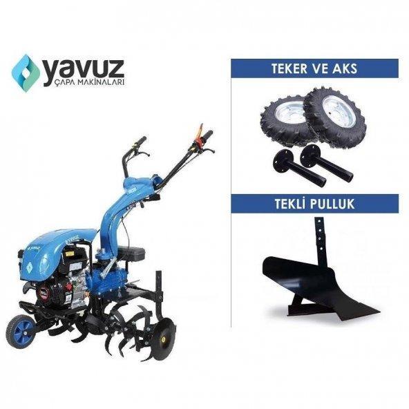 Yavuz Y200 Benzinli Motorlu Çapa Makinası 6.5 Hp Hediyeli
