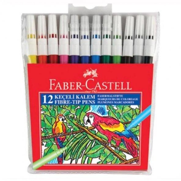 Faber Castell 12 Li Keçeli Kalem