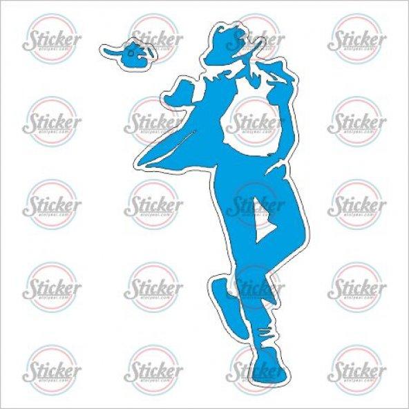 Michael Jackson Sticker - 19016