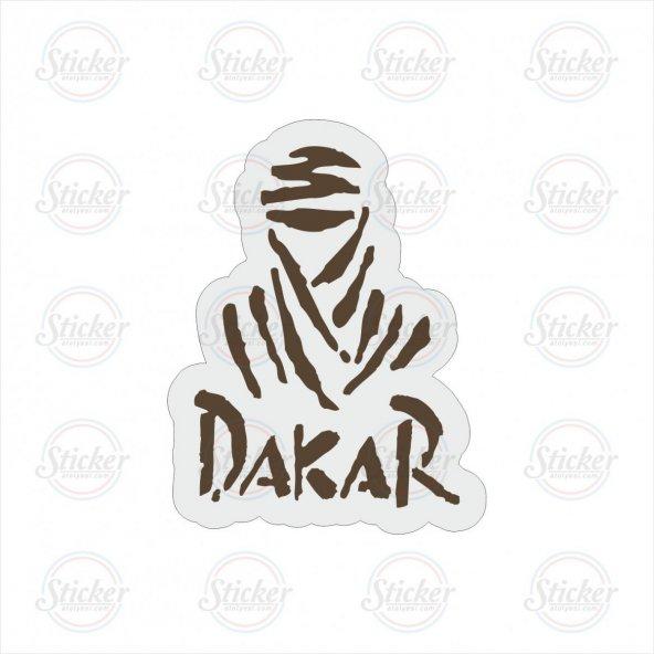 Dakar Şeffaf Sticker - 14037