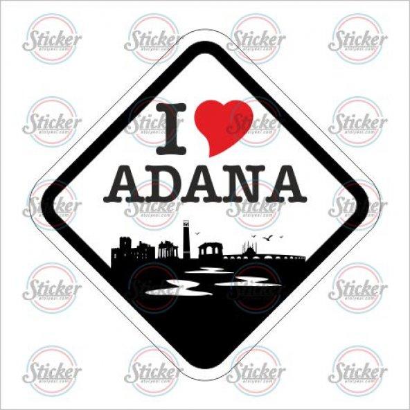 I Love ADANA Sticker - 20128