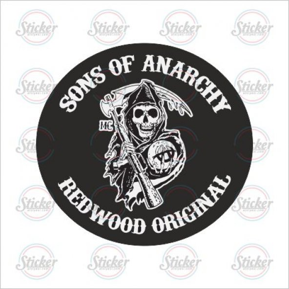 Sons Of Anarchy Sticker - 13023
