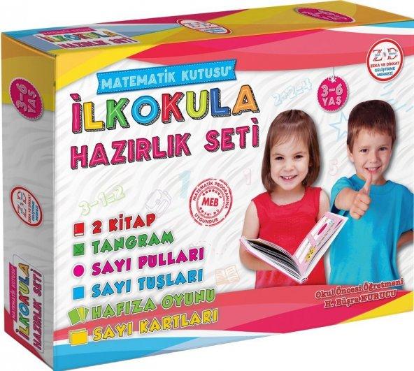 İlkokula Hazırlık Seti (3-6 Yaş) Zeka Yayınevi