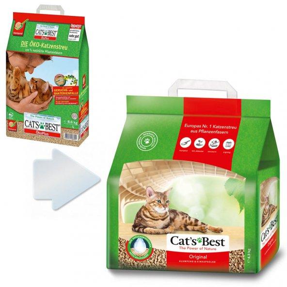 Cats Best Öko Plus Original Kedi Kumu 10 lt